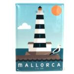 Souvenir Mallorca placa decorativa vintage del faro de Portocolom