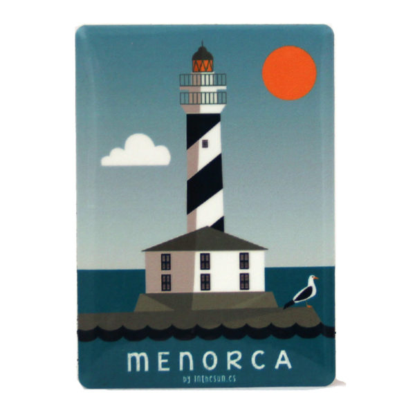 Menorca Souvenir, Magnet, Favaritx Lighthouse