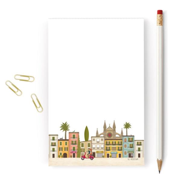 Bloc de notas Mallorca, Palma & catedral
