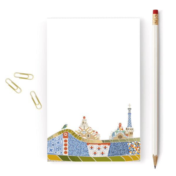 Barcelona Notepad, Park Guell