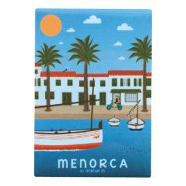 Imán souvenir de Menorca, fornells