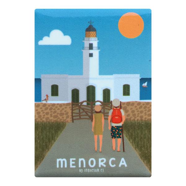 Menorca magnet, Cap de Cavallería Lighthouse