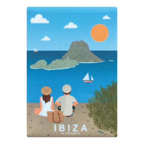 Imán recuerdo de Ibiza, Es Vedrà