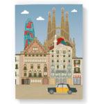 Libreta Barcelona, skyline