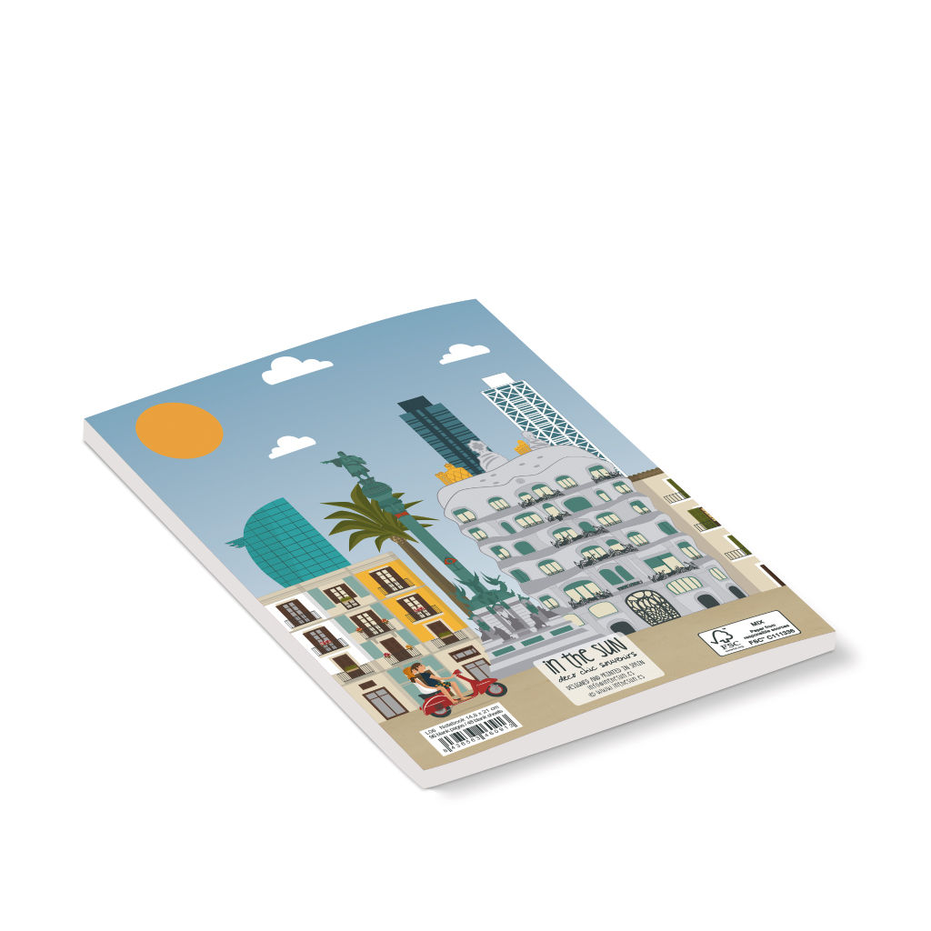 Barcelona Notebook, Skyline
