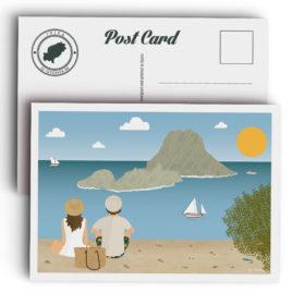 Postal Ibiza, Es Vedrà
