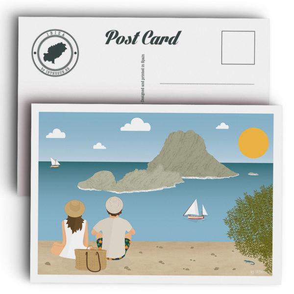 Ibiza Postcard, Es Vedrà