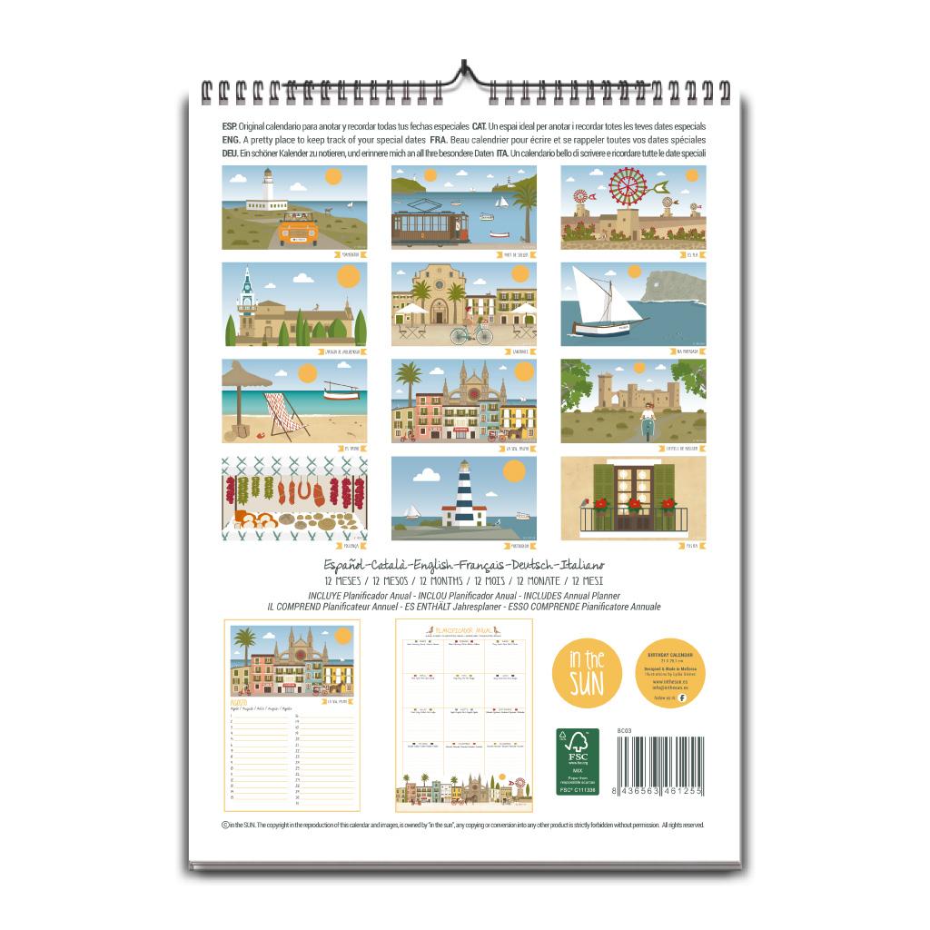 Calendario de Mallorca