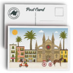 Mallorca Postcard, Palma & Cathedral
