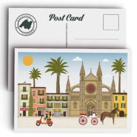 Postal de Mallorca, Catedral de Palma