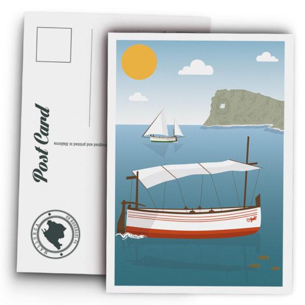 Mallorca Postcard, na Foradada