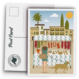 Postal Mallorca, mercado tradicional