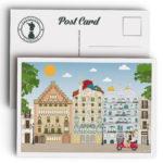 Barcelona Postcard, Passeig de Gràcia