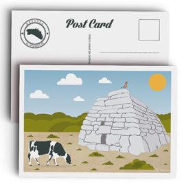 Postal Menorca, Naveta des Tudons