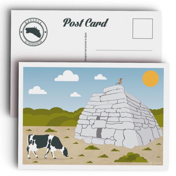 Menorca Postcard, Naveta d'Es Tudons