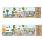 Barcelona Coasters, 6 units Set